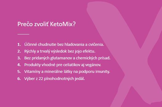 Ketomix recenzia prečo